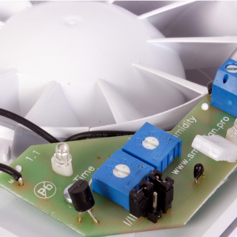 Jumper und seine Einstellung an der Elektronik des Ventilators