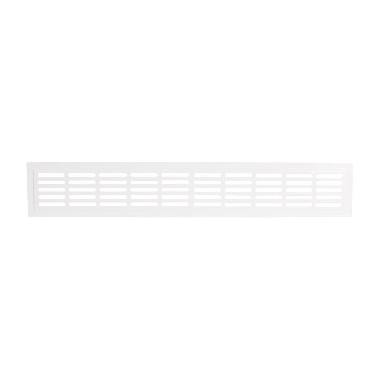 Lüftungsgitter Metall für Türen 20x20 mm, weiß
